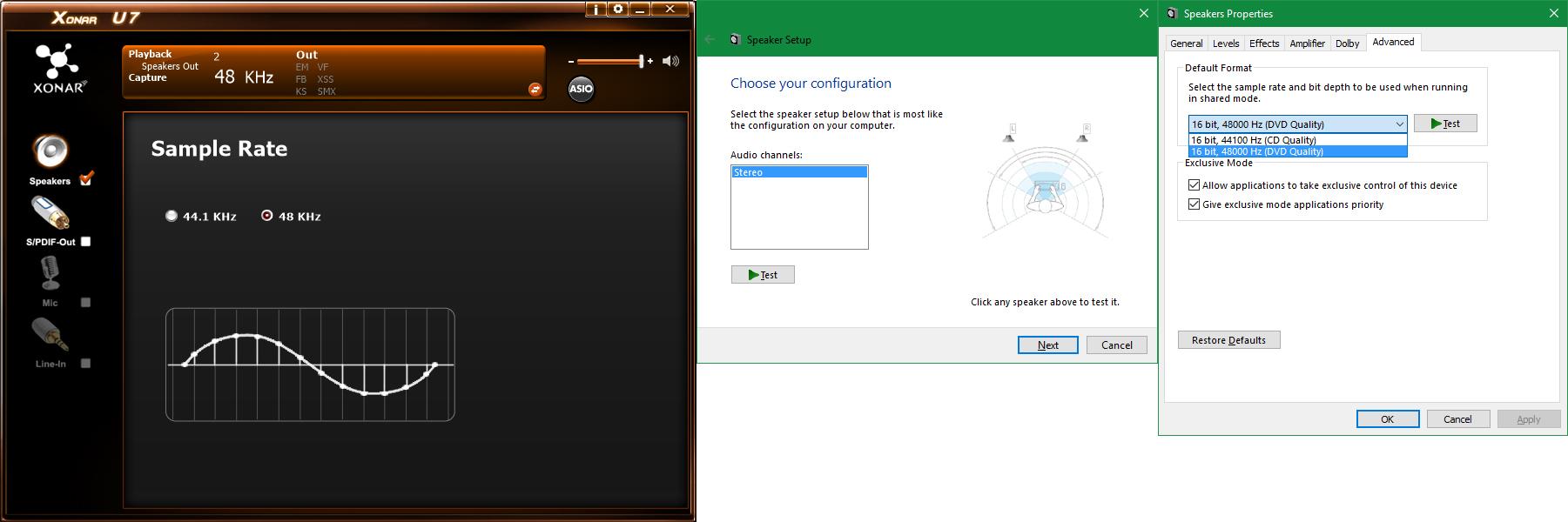 Asus Xonar U7 Drivers Windows 10